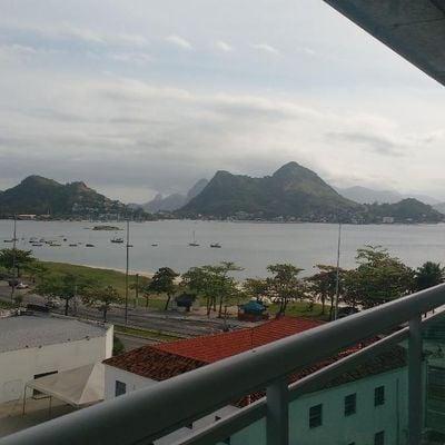Linda cobertura nova Charitas vista mar 3 quartos 2 suites 2 vagas piscina churrasqueira