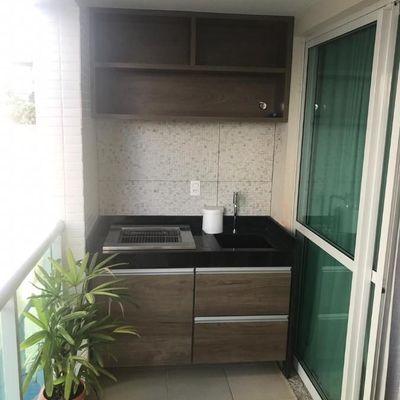 Bom apartamento próximo Pólo Gastronômico montado 3 quartos 2 vagas