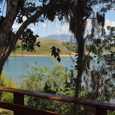 Espetacular Ilha na Represa Clube de Pesca - Casa Mobiliada com 6 Quartos (sendo 5 suítes), lanchas e barcos  - Represa Ribeirão das Lajes - Clube de pesca, Piraí - RJ