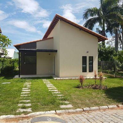 Casa nova Condomínio São José Imbassaí 3 quartos