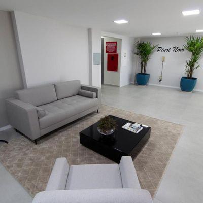 Edifício Pinot Noir - Apartamento Varanda, 2 Quartos (1 Suíte) e vaga de garagem, Elevador - Vivendas do Lado, Volta Redonda - RJ - Apartamento para locação / aluguel - Próximo ao Shopping Park Sul