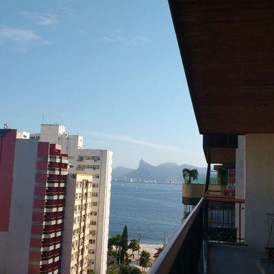 Apartamento para Venda - Apartamento amplo com vista do Cristo, 3 quartos e 3 vagas - Icaraí , Niterói - RJ