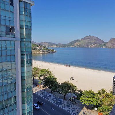 Apartamento Praia de Icaraí vista mar 3 quartos vaga