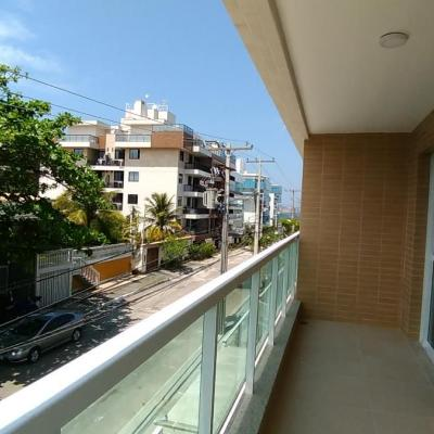 Apartamento novo perto da praia e da Lagoa 1 quarto suite vaga
