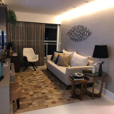 Lindo Icaraí apartamento decorado bom gosto 3 quartos suite vaga lazer
