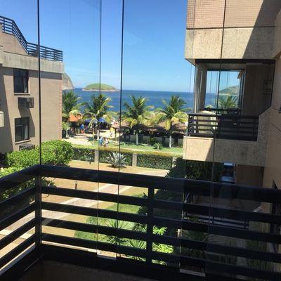 Venha morar em frente a praia Camboinhas apartamento 4 quartos 2 vagas lazer