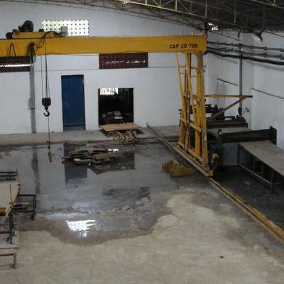 Galpão / Barracão para Locação - Galpão de pé direito alto, área de 1.200 m²,  2 pontes rolantes - Avenida Francisco Crisóstomos Tôrres, Pinto da Serra, Volta Redonda - RJ
