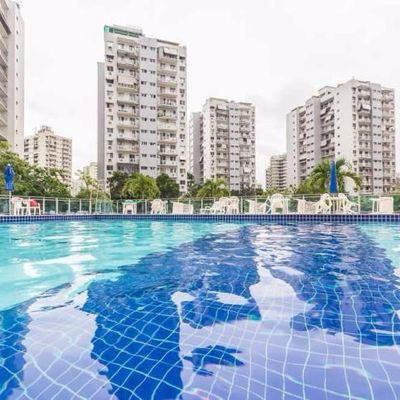 Apartamento 2 Quartos (1 Suíte), Embaixador Abelardo Bueno, Barra da Tijuca, Rio de Janeiro - RJ