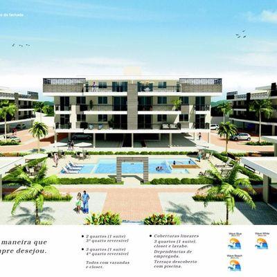Apartamento 2 quartos (1 suíte) 1ª locação em Camboinhas