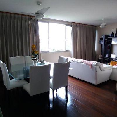 Amplo apartamento com vista do campo São Bento 4 quartos 2 vagas - Rua Domingues de Sá, Icaraí, Niterói - RJ