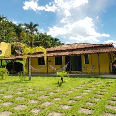 Linda Chácara com 50.000 m² - Ipiabas, Barra do Piraí - RJ