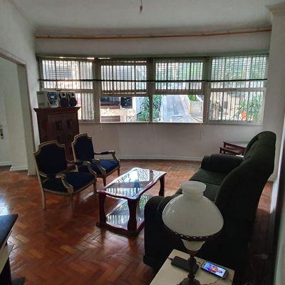 Apartamento para Venda -  Apartamento amplo e antigo com 3 quartos, Rua Assis Brasil, Copacabana, Rio de Janeiro, RJ