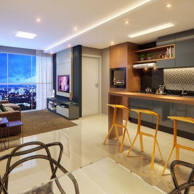 Icon Residence-Apartamento com 02 dormitórios sendo 01 suíte e 01 vaga de garagem