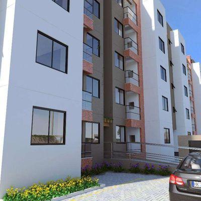 Apartamento de 02 dormitórios sendo 01 suíte e 01 vaga de garagem