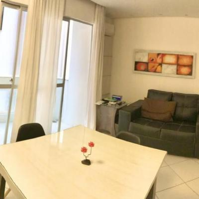 Apartamento de 01 dormitório mobiliado