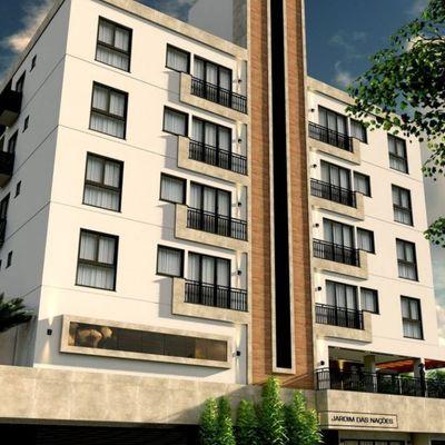 Residencial Jardins das Nações-Apartamento 02 dormitórios sendo 01 suíte e 01 vaga de garagem