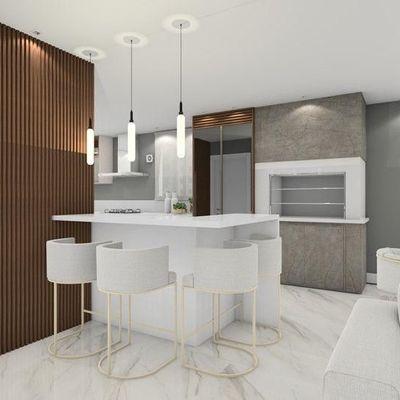 Apartamento novo no centro de Balneário Camboriu com 4 suites (sendo 2 com terraços) + 2 vagas de garagem