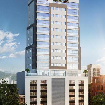 Lançamento! Apartamento novo com 3 dormitórios sendo 1 suíte + 2 vagas de garagem no centro de Balneário Camboriu