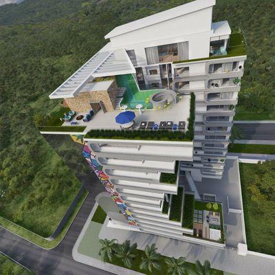 Apartamento à venda na Praia Brava com 3 dormitórios a aprox. 150 metros do mar na Praia Brava