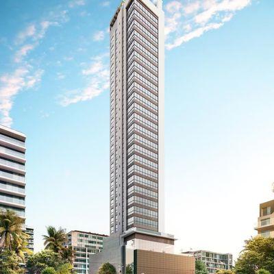 Lançamento! Apartamento novo com 4 suítes + 2 vagas de garagem no centro de Balneário Camboriu
