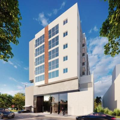 Lançamento! Apartamento novo no bairro Ariribá com 2 dormitórios (sendo 01 suíte) + 01 vaga de garagem
