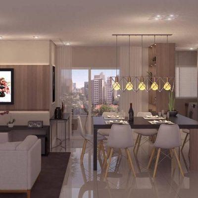 Apartamento na Praia Brava com 3 dormitórios (sendo 1 suíte) + sacada com churrasqueira