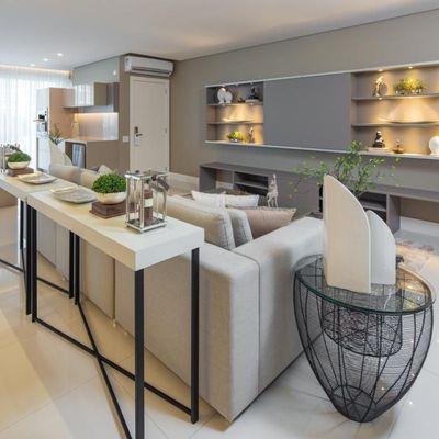 Apartamento à Venda na Praia Brava Mobiliado com 04 Suítes Dependência de Empregada e 4 Vagas Garagem