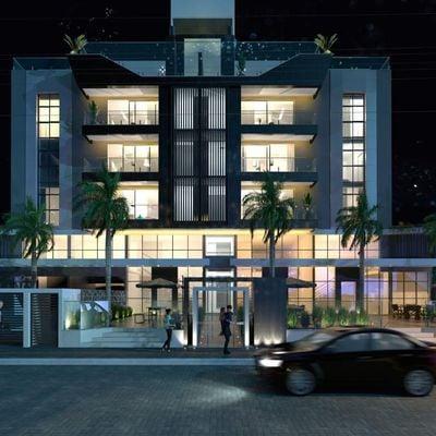 Lançamento na Praia Brava! Apartamento novo com 2 suítes + 2 vagas de garagem