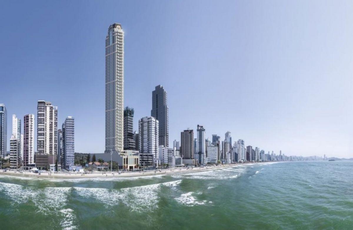 Apartamento à venda Frente para o Mar em Balneário Camboriú com 4 ou 5 Suítes e 4 ou 5 Vagas de Garagem