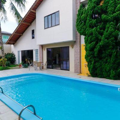 Casa de alto padrão mobiliada no bairro das nações com 5 dormitórios + piscina + churrasqueira