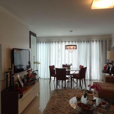 Apartamento à Venda Com 3 Dormitórios em Balneário Camboriú No Pioneiros Com Vista Para O Mar super bem mobiliado