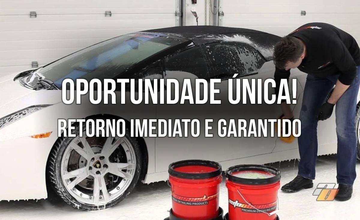 Lavação e Estética Automotiva para Venda em Balneário Camboriú