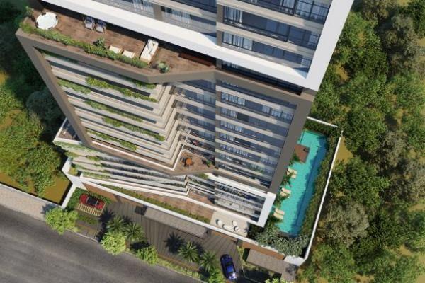 Conheça o prédio residencial com frente em vidro e visão 180º que será construído em Goiânia