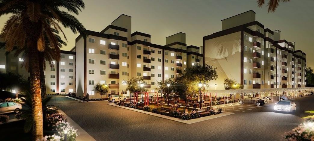 Apartamento próximo BR 101 02 quartos