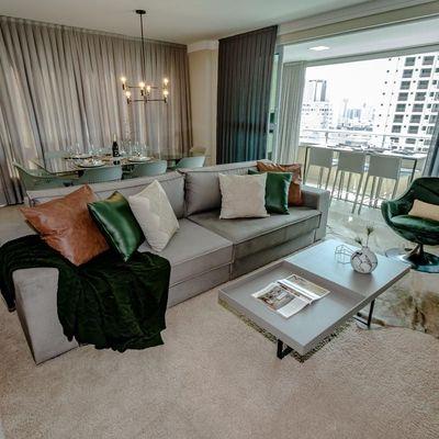 Apartamento Mobiliado 3 suítes no Centro