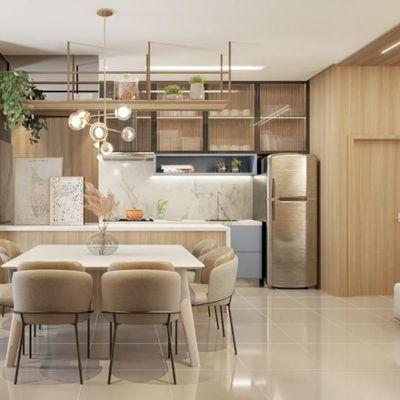 Apartamento 1 suite + 2 demi, São Judas, Itajaí