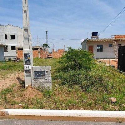 Terreno Jardim Amélia com poste e água instalados já.