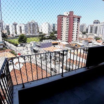 Ótimo apartamento 2 quartos com suíte e varanda com vista livre