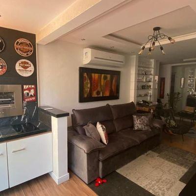 Excelente apartamento com varanda gourmet