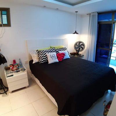 ótimo apartamento com varanda e lazer completo no Ingá
