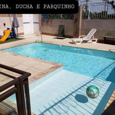 Linda Casa com 4 quartos com Piscina e Churrasqueira