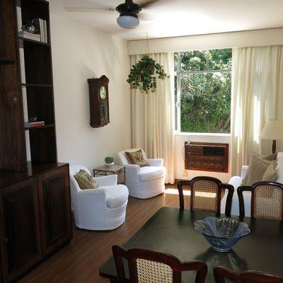 2 quartos em copacabana com vista para o verde