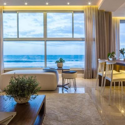 Apartamento mobiliado e decorado a venda Quintas do Arpoador na Praia Brava em Itajaí