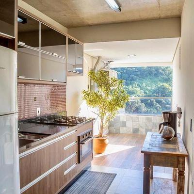 Apartamento Moderno mobiliado à venda no Edifício MaxHaus na Praia Brava em Itajaí