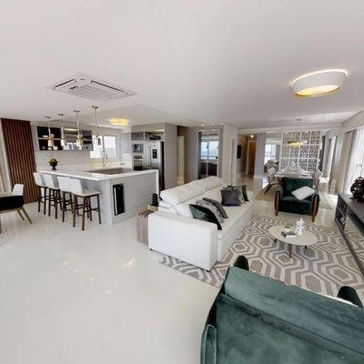 Apartamento a venda todo mobiliado no Edifício Ibiza Towers em Balneário Camboriú