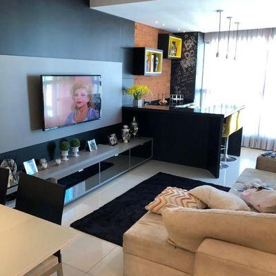 Apartamento a venda Mobiliado, decorado e equipado no Edifício Império das Ondas em Balneário Camboriú