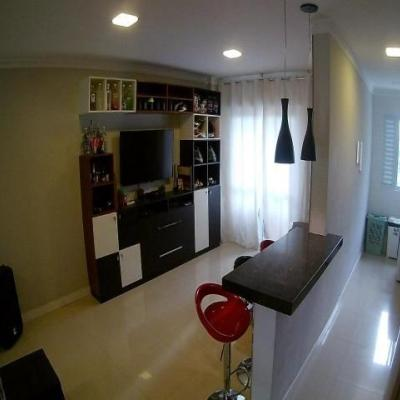 Apartamento no Residencial Alvorada com 1 quarto