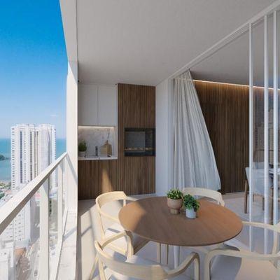 Apartamento Diferenciado na Planta Empreendimento Las Brisas Residencial em Balneário Camboriú