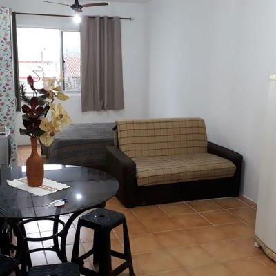 Kitnet mobiliada a venda no Edifício Nayara no centro de Balneário Camboriú