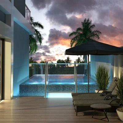 Apartamento Diferenciado na planta a venda na Praia Brava em Itajaí